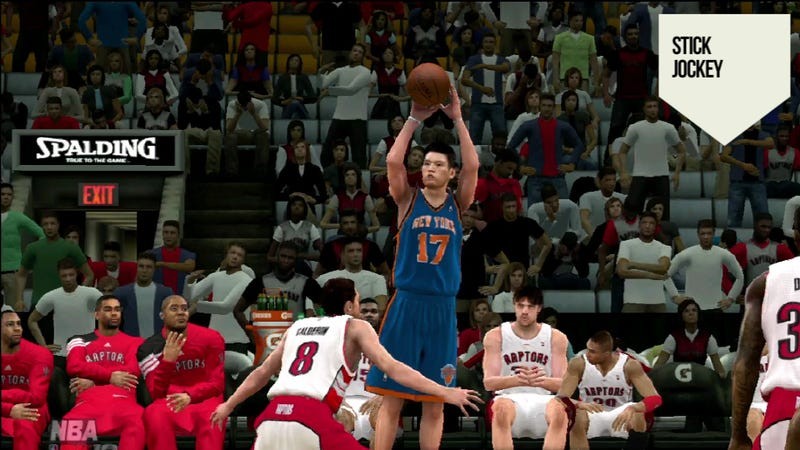 Illustration for article titled Should a Video Game Have Predicted the Rise of Jeremy Lin?
