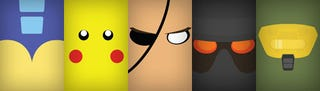 Illustration for article titled The Many (Ultra-Close) Faces Of Video Games