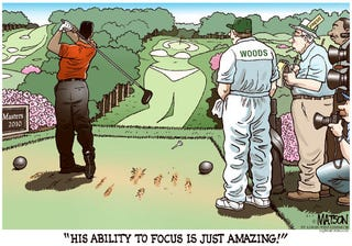 Illustration for article titled Apple Thinks This Tiger Woods Cartoon Is Too Mean For Your iPhone