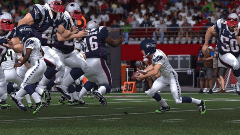 Illustration for article titled A video game finally achieves sentience in the second Breaking Madden Super Bowl