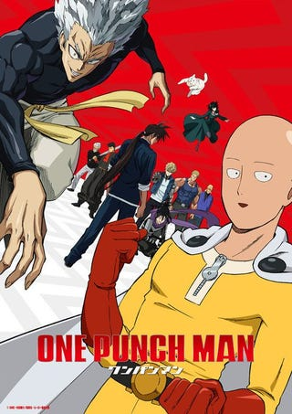 Illustration for article titled The second season of One-Punch man will premiere in April 9