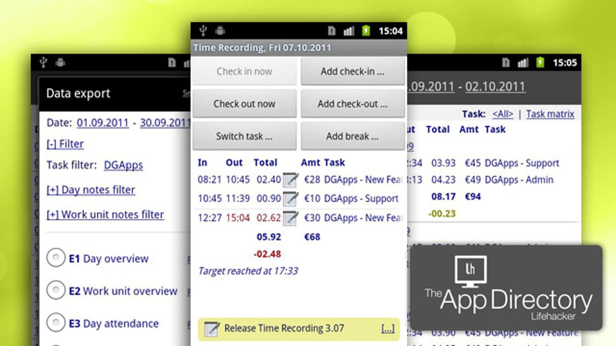 The Best Time Tracking Application for Android