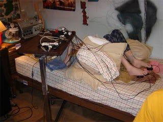 Illustration for article titled Handicapped PS3 Owner Builds Frankenstein's Controller
