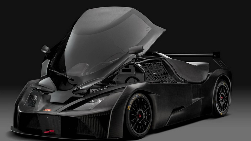 Illustration for article titled The 2018 KTM X-Bow GT4 Made Cheaper To Run But Still Has An Opening Canopy Like A Fighter Plane