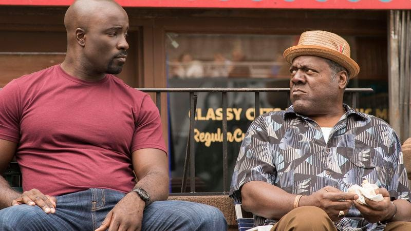 Mike Colter and Frankie Faison (Photo: Netflix)