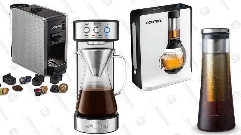 Gourmia Coffee Gold Box | Amazon