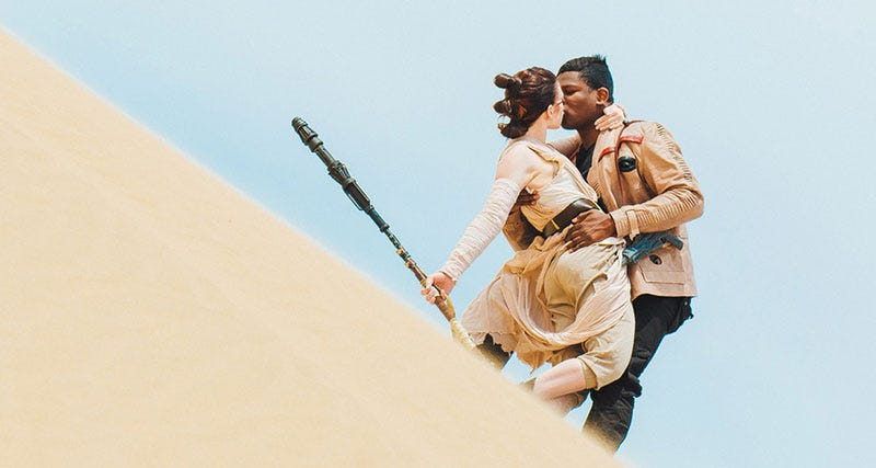 Cosplay by The Real Finn & Rey, photo by Robert Lance Montgomery