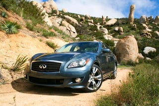Illustration for article titled 2011 Infiniti M Exterior