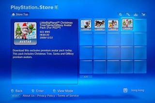 """Illustration for article titled PlayStation Store Now Selling """"Premium Avatars"""" In Hong Kong, Europe"""