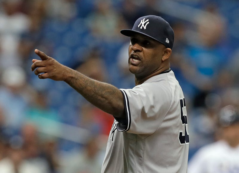 "Illustration for article titled CC Sabathia Plunks Batter, Costs Himself $500K, Tells Rays Dugout ""That's For You...Bitch"""