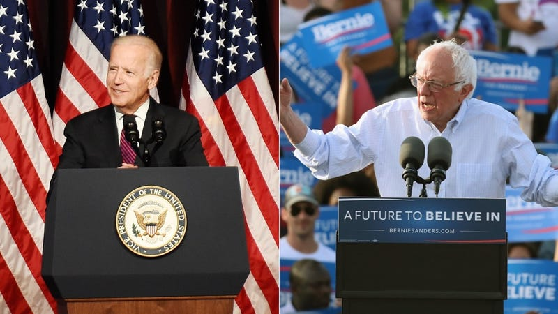 Illustration for article titled True to Form, Joe Biden Announces Bernie Sanders' Clinton Endorsement Ahead of Time
