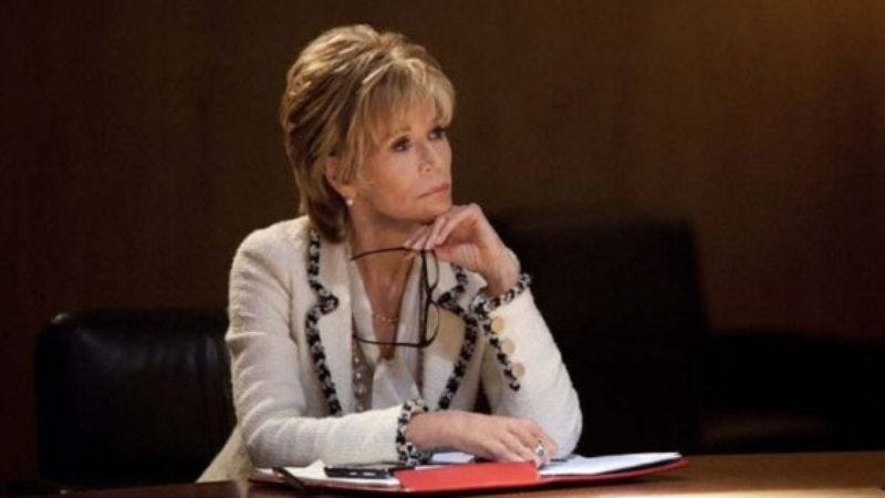 Illustration for article titled Jane Fonda to star in ABC blog sitcom, about a blog-mom upset about her blog-daughter's blog