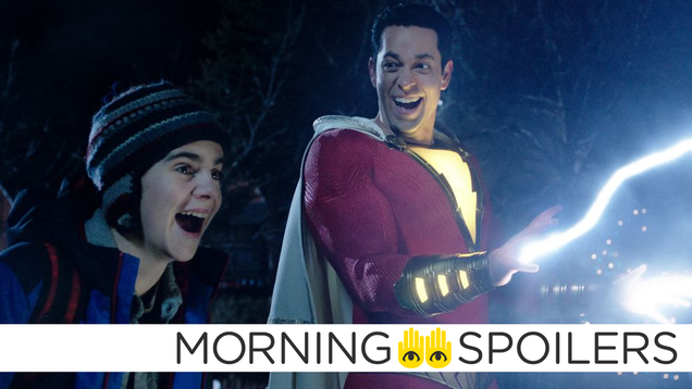 Updates From Shazam Fury of the Gods, Star Wars  Andor Series, and More