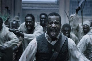 Actor and director Nate Parker as Nat Turner in The Birth of a NationFox Searchlight