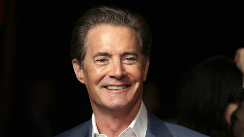 Illustration for article titled Kyle MacLachlan celebrates Twin Peaks Day by being his usual adorable self