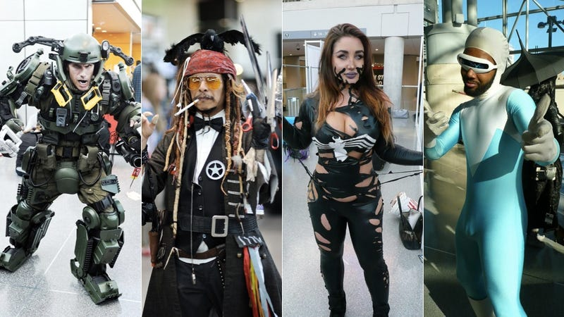 Illustration for article titled The Very Best Cosplay From New York Comic-Con 2014