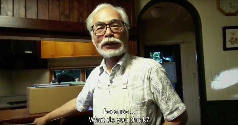 Hayao Miyazaki explica por qué volvió de su jubilación
