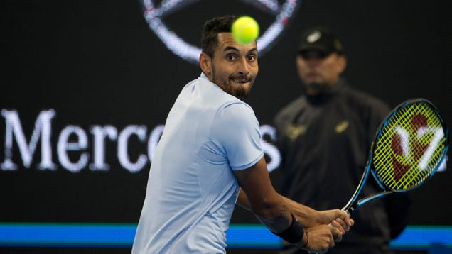 Nick Kyrgios, Shut Down For The Season, Fields Questions From The Peanut Gallery