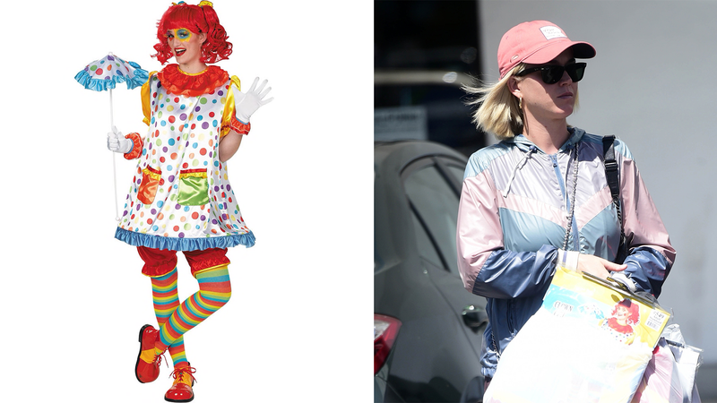 Illustration for article titled Where Will Katy Perry Debut Her Brand New Party City Clown Costume?