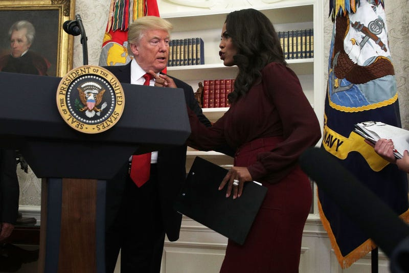 Illustration for article titled Omarosa Confirms the President Has a List of Crazy Policy Ideas He'll Leak to Distract From Bad Press