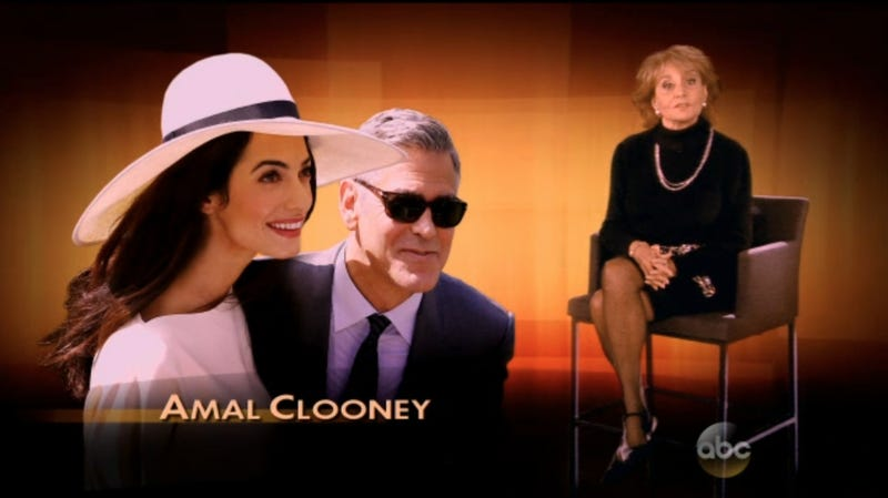Illustration for article titled Snagging Clooney Makes Amal 'Most Fascinating' Person of 2014