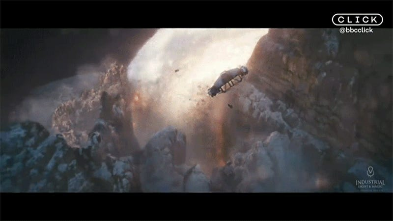 One of Solo: A Star Wars Story's Giant Explosions Was Inspired By the Slow Mo Guys on YouTube