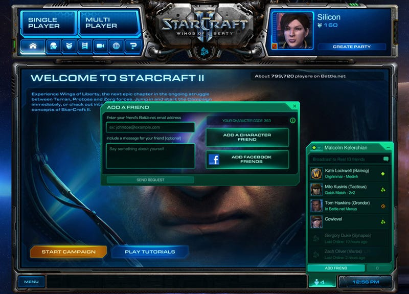 Illustration for article titled A Beginner's Guide To Starcraft II's Online Portal