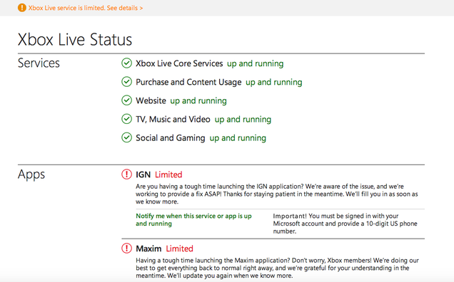 Day After Christmas Outage, Xbox Live Back, PSN Down for