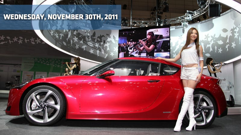 Illustration for article titled 2013 Mazda6, the Tokyo Motor Show, and Toyota's got 99 problems but the olds ain't one