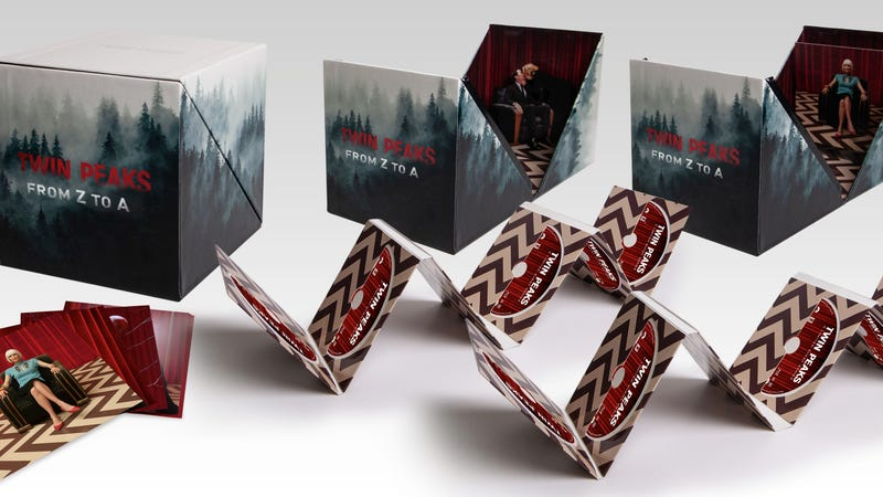 Illustration for article titled This (very) limited Twin Peaks box set is the most complete Twin Peaks collection yet