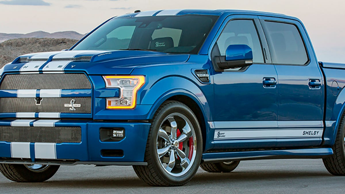 Ford Truck Shelby >> The 750 Hp Shelby F 150 Super Snake Is Murica In Truck Form