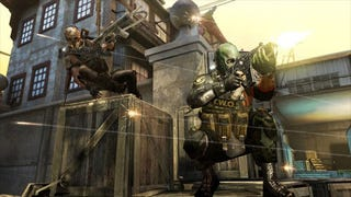 """Illustration for article titled Army Of Two Sequel Does Indeed Contain """"Total FistBump Destruction"""""""