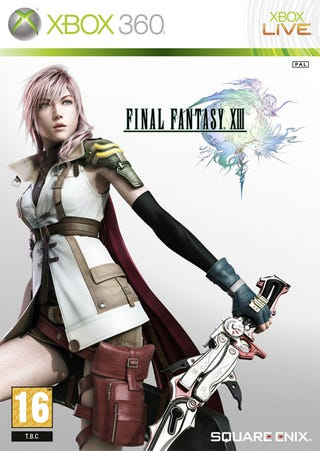 Illustration for article titled Final Fantasy XIII Box Art, Now With More Xbox 360