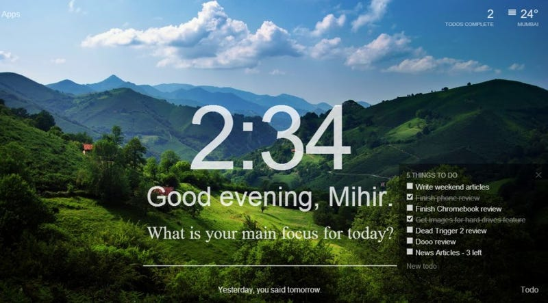 Momentum Adds Inspirational Quotes and To-Dos to Chrome's ...