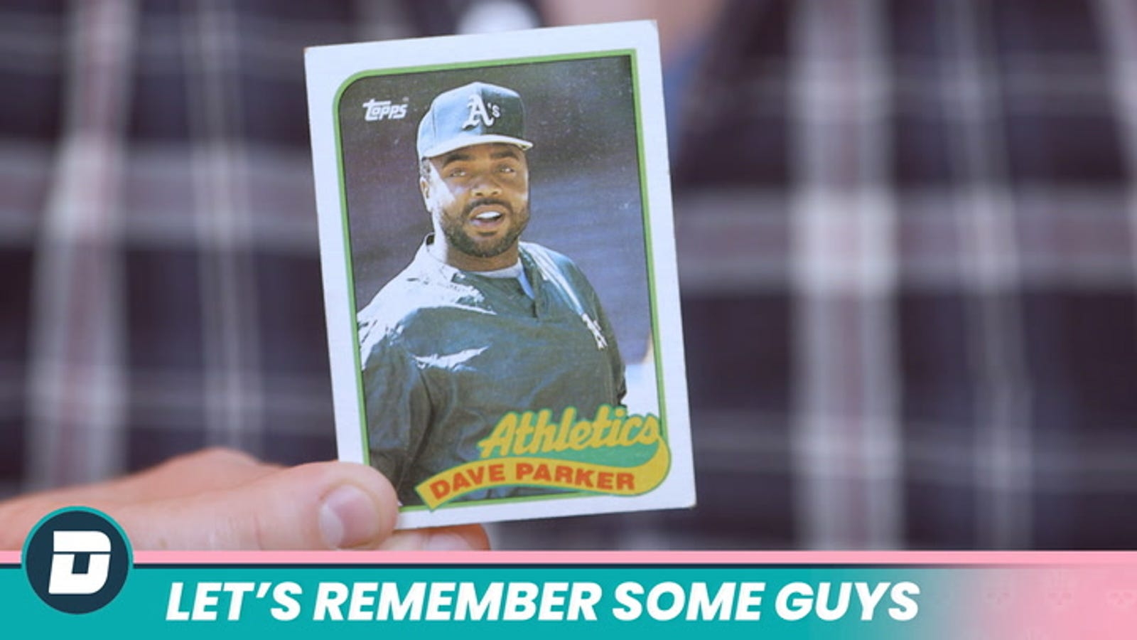 Let's Remember Some Guys: Dave Parker Confronts The End
