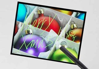 Illustration for article titled Sony Makes Optical Multitouch Screen of their Own
