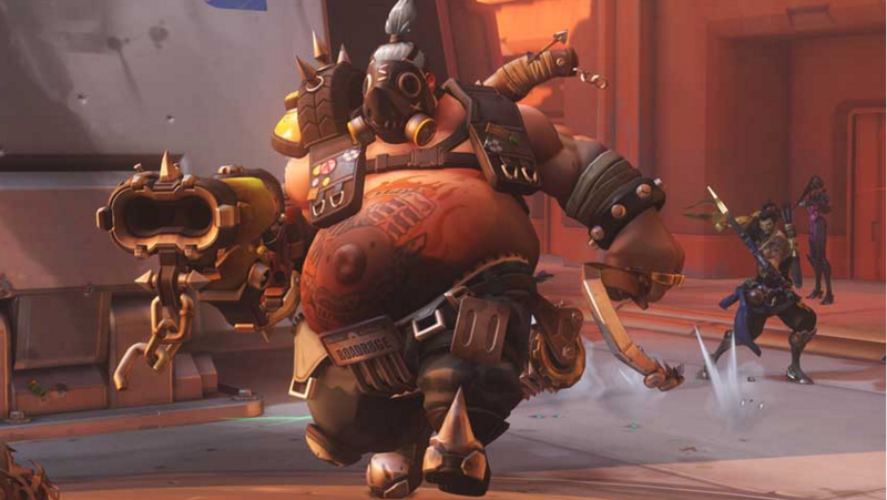 Overwatch's Roadhog