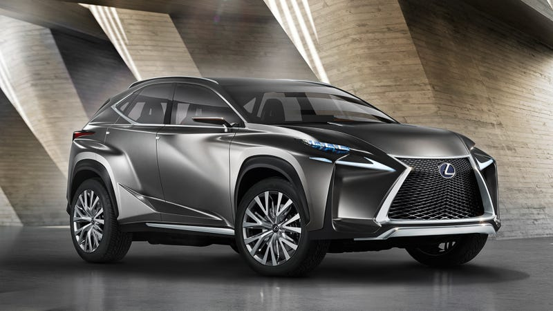 The Lexus Lf Nx Is A Futuristic Luxury Suv That Looks Like An Autobot