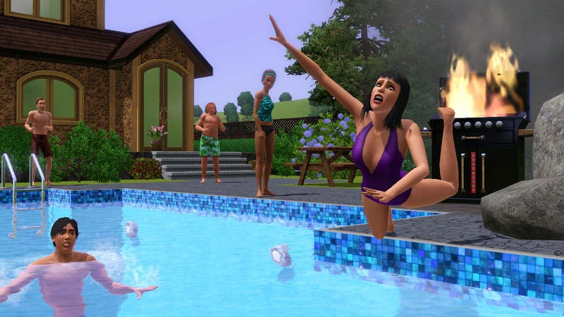 Adding Pools To Sims 4 Isn't Easy, Claims EA