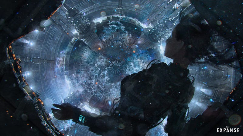 Illustration for article titled The Expanse Concept Art Takes You Deep Into the Machines That Keep the Solar System Running