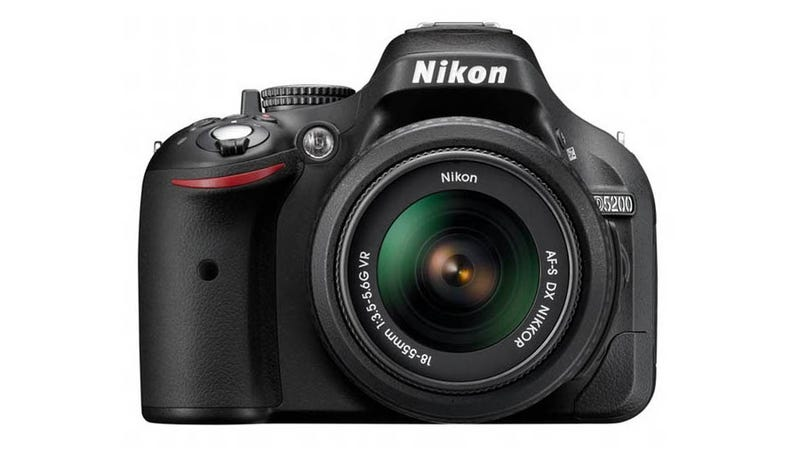 Illustration for article titled Nikon's D5200: A Beginner's Camera With Some Advanced Specs