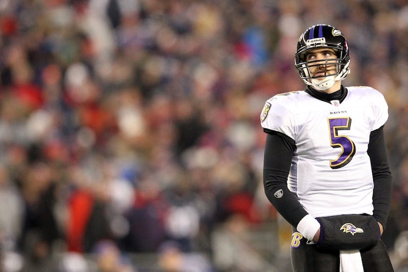 """Illustration for article titled The Ever-Inflating Joe Flacco: """"I Think I'm The Best"""""""