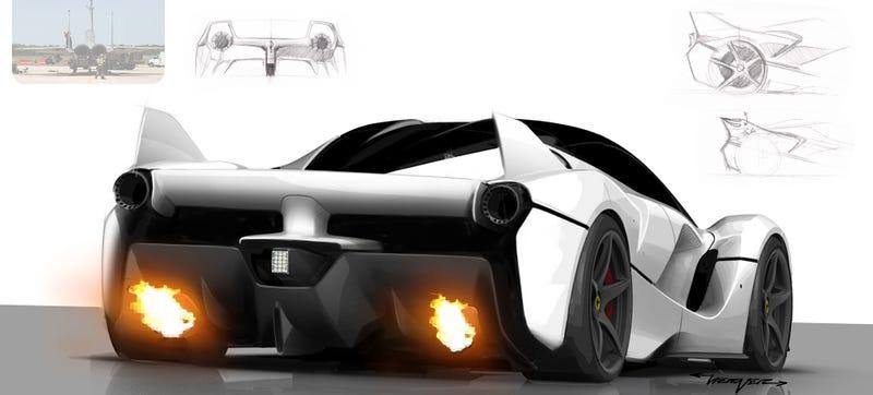 Illustration for article titled Here's How Ferrari Designed The Insane FXX K