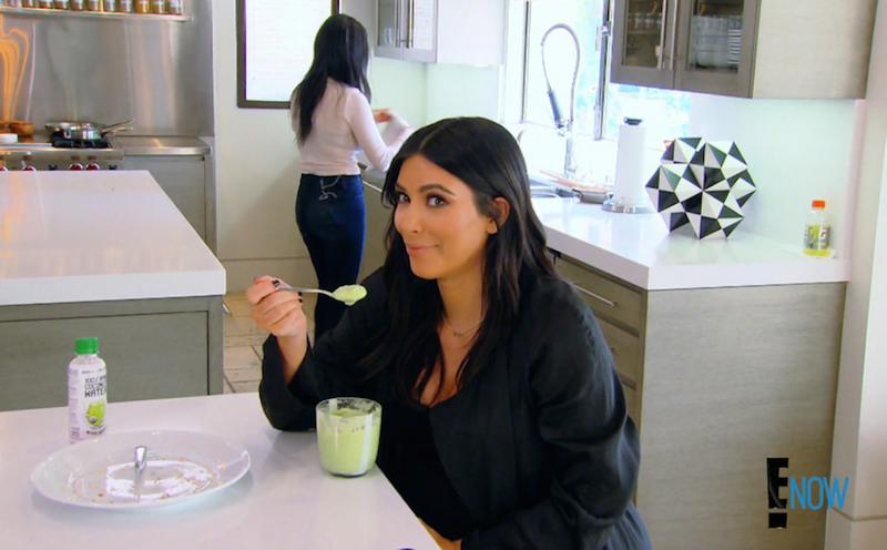 Illustration for article titled Does Kim Kardashian Eat 'Green Yogurt'? An Investigation