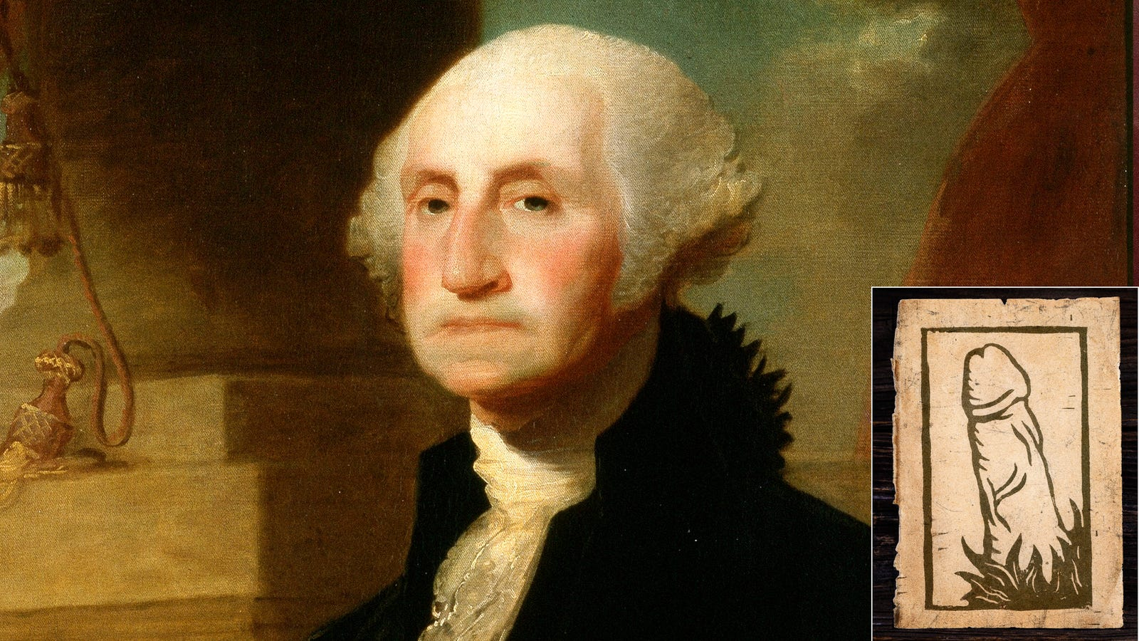 forced to resign resignation letter%0A New Evidence Suggests President George Washington Sent Woodcut Of Penis To  Secretary