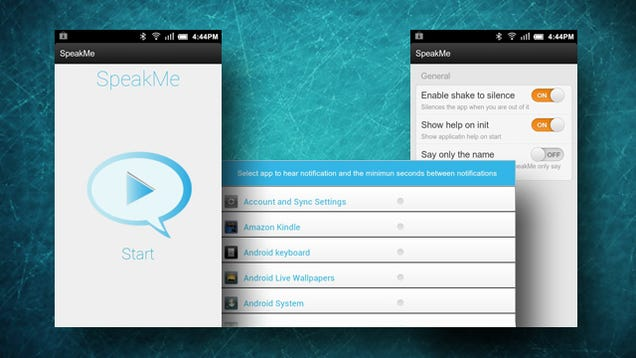 android how to let email send notifications