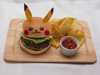 Illustration for article titled Japan's Pikachu Cafe Serves Pikachu Burgers and More