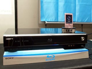 Illustration for article titled Sony's New Blu-ray Recorder Moves TV (not BD) Vid to PSP