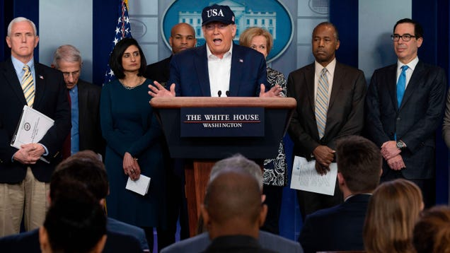 Trump Extends Travel Ban to UK and Ireland, Tests Negative for COVID-19