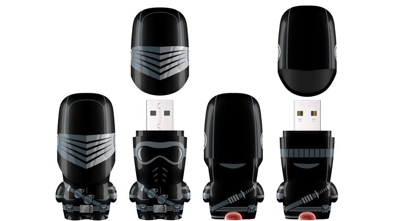 Illustration for article titled The Most Bad-Ass Member Of G.I. Joe Is Now an Awesome Ninja Flash Drive